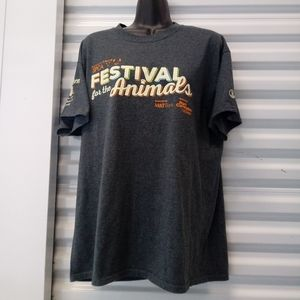 SPA Festival For The Animals Tee Shirt Size Large